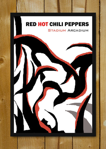 Glass Framed Posters, Red Hot Chili Peppers Stadium Arcadium Glass Framed Poster, - PosterGully - 1