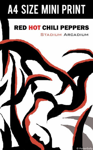 Mini Prints, Red Hot Chili Peppers | Stadium Arcadium | Mini Print, - PosterGully
