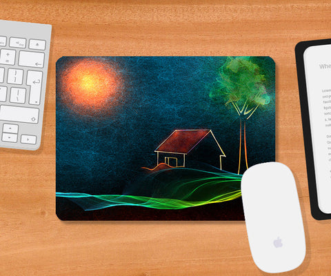 Mousepads, River Of Fire Mousepad | Artist: Devraj Baruah, - PosterGully