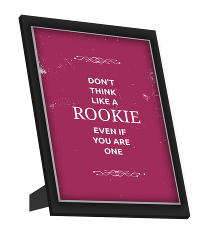 Framed Art, Rookie Suits Framed Art, - PosterGully