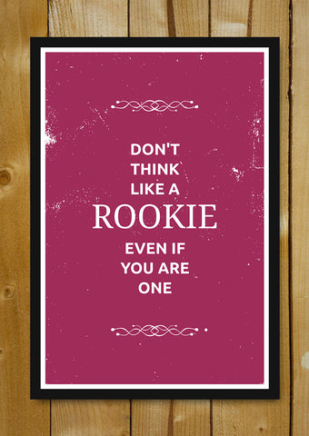 Glass Framed Posters, Rookie Suits Glass Framed Poster, - PosterGully - 1