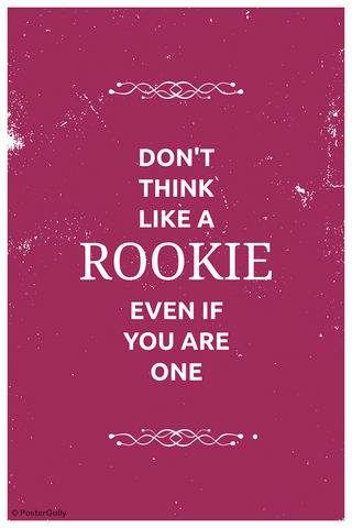 Wall Art, Rookie Suits, - PosterGully