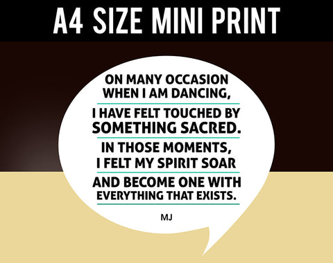 Mini Prints, Sacred Moments | Michael Jackson | Mini Print, - PosterGully