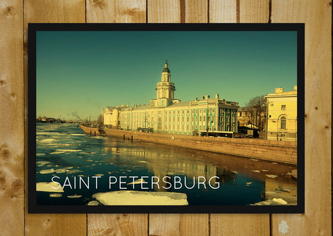 Glass Framed Posters, Saint Petersburg Russia Glass Framed Poster, - PosterGully - 1