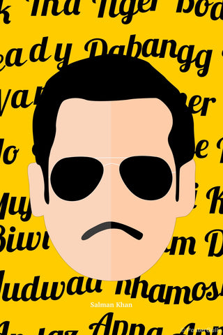 Wall Art, Salman Khan Pop Art, - PosterGully