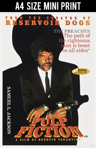 Mini Prints, Samuel L. Jackson in Pulp Fiction | Mini Print, - PosterGully