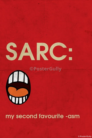Wall Art, Sarcasm Humour, - PosterGully