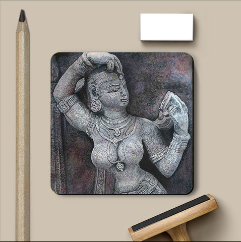 PosterGully Coasters, Sculpture Coaster | Artist: Inithan Ponnuswamy, - PosterGully