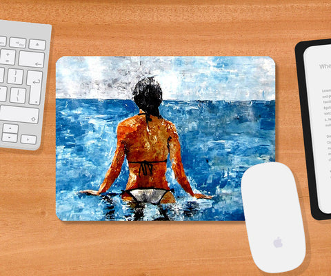 Mousepads, Sea & Beauty Mousepad | Artist: Sunanda Puneet, - PosterGully