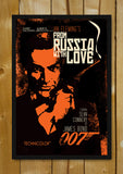 Glass Framed Posters, Sean Connery as James Bond Glass Framed Poster, - PosterGully - 1