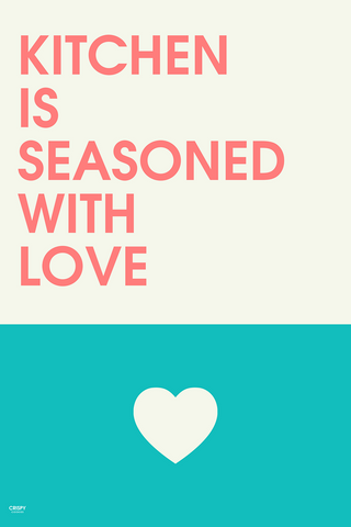 Wall Art, Seasoned With Love, - PosterGully
