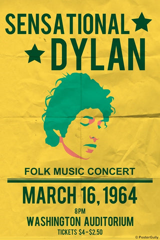 Wall Art, Sensational Dylan | Folk Concert, - PosterGully