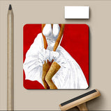 PosterGully Coasters, Seven Year Itch Acrylic Coaster | Artist: Sunanda Puneet, - PosterGully