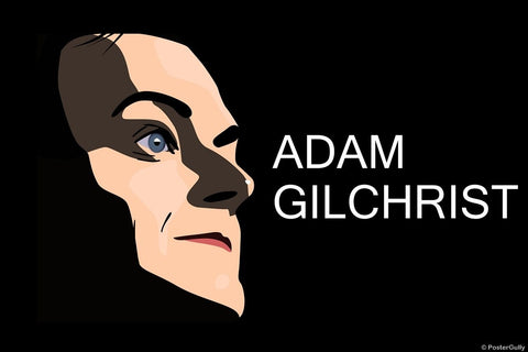 Wall Art, Shadow | Adam Gilchrist, - PosterGully