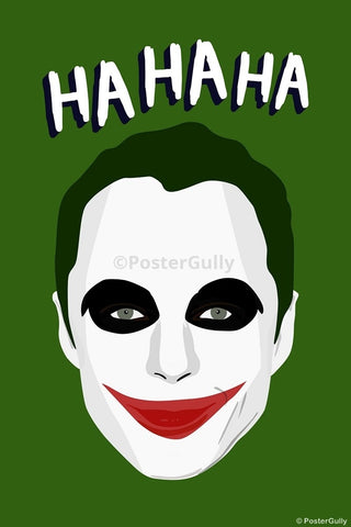 Wall Art, Sheldon Cooper | Joker Humour, - PosterGully