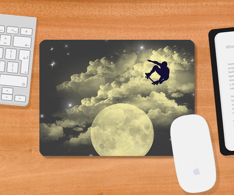 Mousepads, Sky Is The Limit - Blue Mousepad | By Captain Kyso, - PosterGully