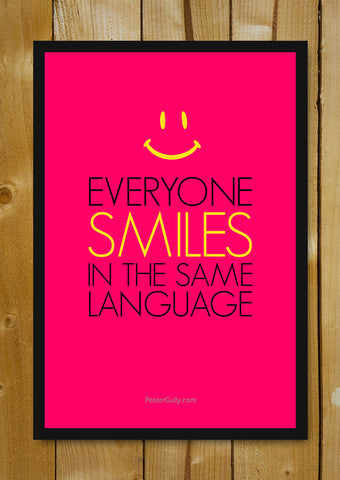 Glass Framed Posters, Smiles Glass Framed Poster, - PosterGully - 1