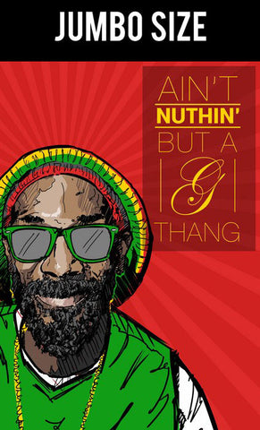Jumbo Poster, Snoop Dogg | Aint Nuthin Artwork | Jumbo Poster, - PosterGully