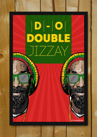 Glass Framed Posters, Snoop Dogg D-O-G-G | Glass Framed Poster, - PosterGully - 1