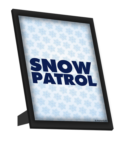 Framed Art, Snow Patrol Art Framed Art, - PosterGully