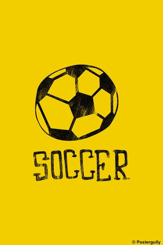 Wall Art, Soccer | Pop Color, - PosterGully