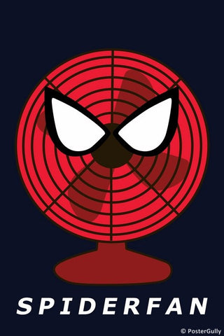 Wall Art, Spiderfan - Spiderman Humour, - PosterGully