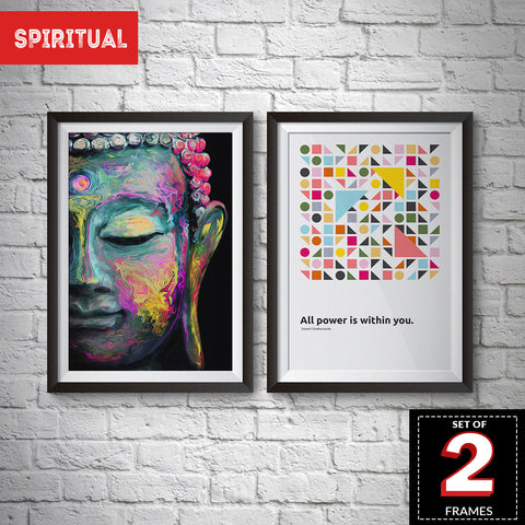 Set Of 2 Spiritual Frames