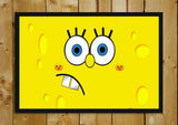 Glass Framed Posters, SpongeBob Glass Framed Poster, - PosterGully - 1