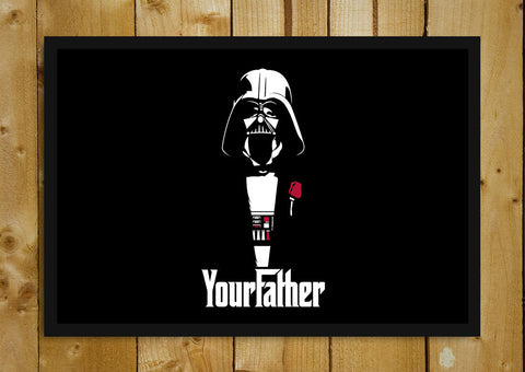 Glass Framed Posters, Star Wars Godfather Glass Framed Poster, - PosterGully - 1