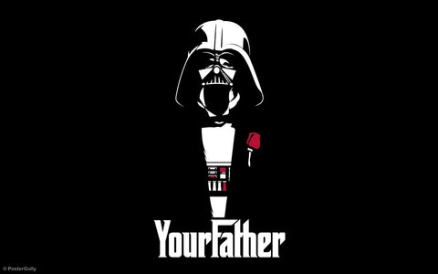 PosterGully Specials, Star Wars | Godfather, - PosterGully