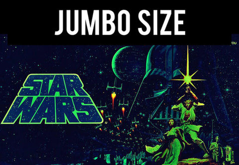 Jumbo Poster, Star Wars | May The Force With You | Jumbo Poster, - PosterGully