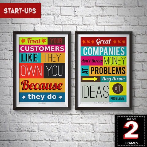Set of 2 Start-ups Frames