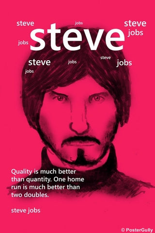 Wall Art, Steve Jobs On Quality, - PosterGully