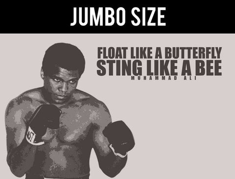 Jumbo Poster, Sting Like  A Bee | Ali Quote Poster | Jumbo Poster, - PosterGully