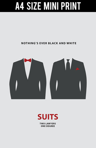 Mini Prints, Suits | Minimal Art | Mini Print, - PosterGully