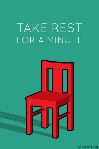 Wall Art, Take Rest Minimal Art, - PosterGully