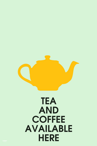 Wall Art, Tea And Coffee, - PosterGully