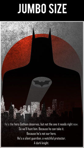 Jumbo Poster, The Dark Knight Artwork by Aritra | Jumbo Poster, - PosterGully