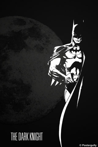 PosterGully Specials, The Dark Knight Batman | Oliver's Rendition, - PosterGully