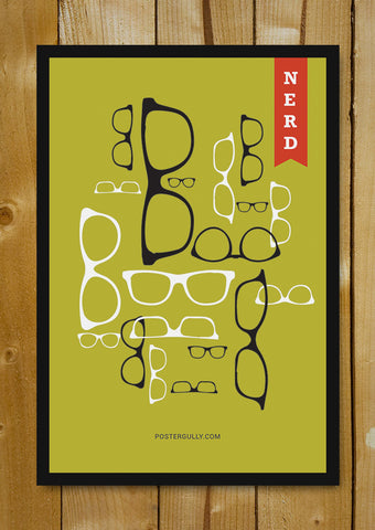 Glass Framed Posters, The Geek Anthem Glass Framed Poster, - PosterGully - 1
