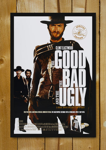 Glass Framed Posters, The Good, The Bad & The Ugly Glass Framed Poster, - PosterGully - 1