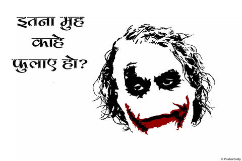 PosterGully Specials, The Joker Humour, - PosterGully