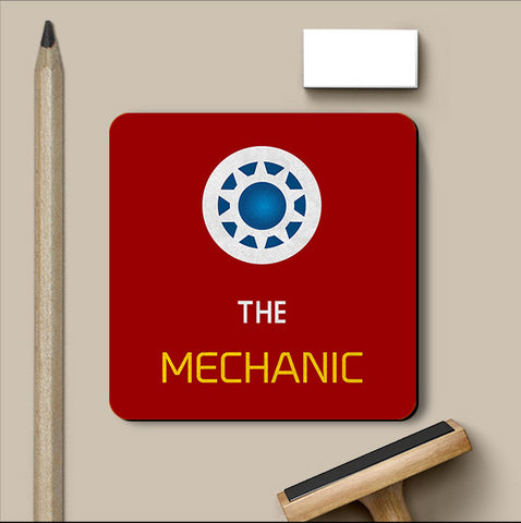 PosterGully Coasters, The Mechanic Coaster | Artist: Kumaraditya Dash, - PosterGully