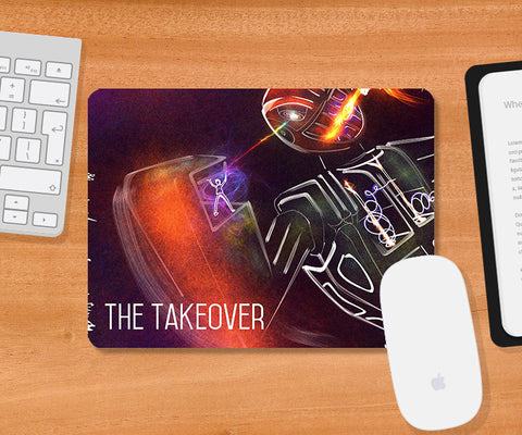 Mousepads, The Takeover Mousepad | Artist: Devraj Baruah, - PosterGully