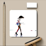 PosterGully Coasters, Tiny Dancer Coaster | Artist: Sunanda Puneet, - PosterGully