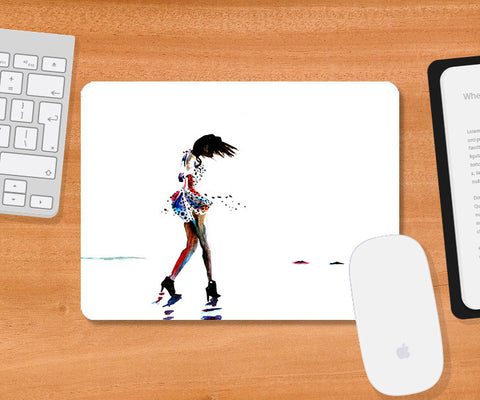 Mousepads, Tiny Dancer Mousepad | Artist: Sunanda Puneet, - PosterGully