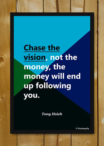 Glass Framed Posters, Tony Hsieh Vision | Startup Quote | Glass Framed Poster, - PosterGully - 5