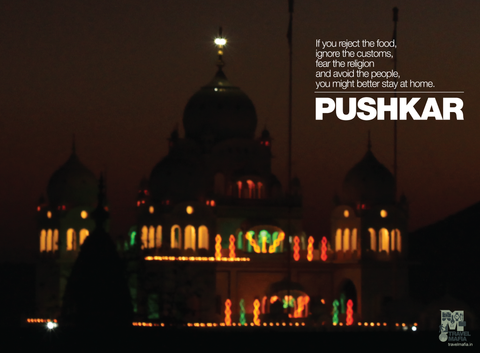 PosterGully Specials, Traditions. Customs. Pushkar., - PosterGully