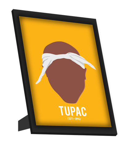 Framed Art, Tupac Shakur 2pac | Minimal Framed Art, - PosterGully