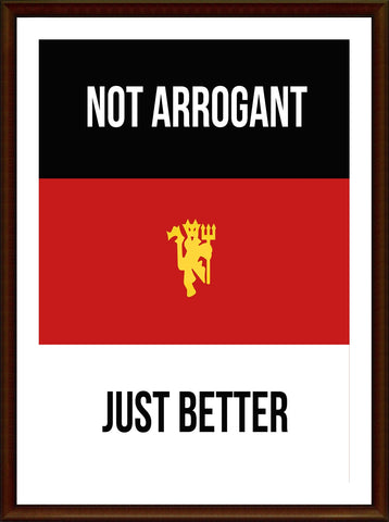 PosterGully Specials, Manchester United BRW | Minimal Art, - PosterGully